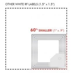 2000 Etiquettes antivol Micro 25.4x23.7 mm
