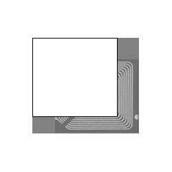 2000 Etiquettes antivol RF 8.2Mhz 40X40 Gamme ECO